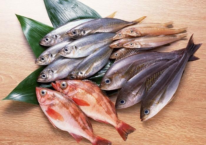 Каша с рыбой и овощами